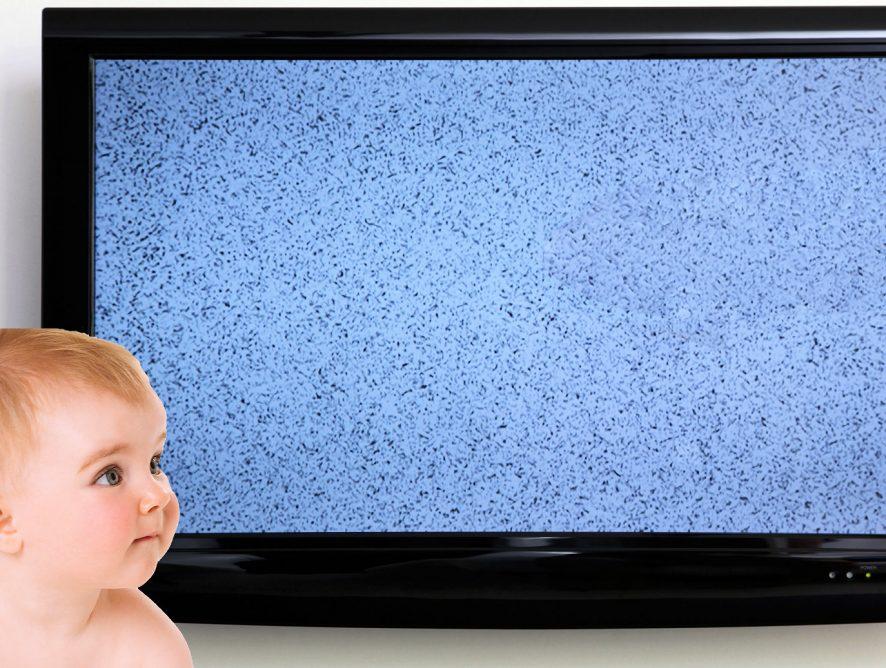 Darf mein Baby fernsehen?