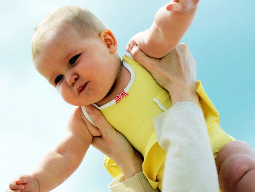 Fliegen mit Baby / Flugzeug